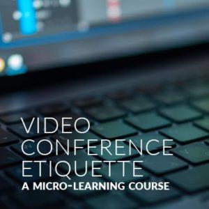 Videoconference Etiquette e-Learning Thumbnail